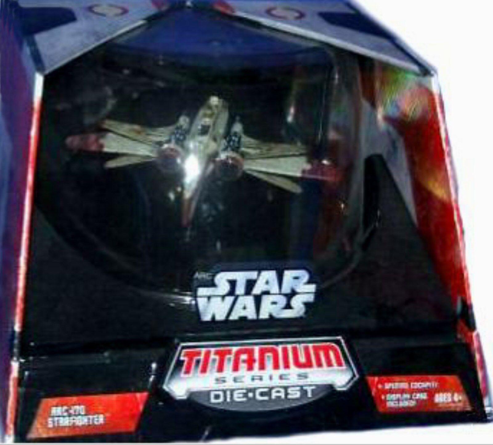 Star Wars Titanium Series ARC-170 Starfighter Starfighter Starfighter Nuevo Sellado De Fábrica 86e33e