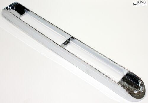 """Chrome Bezel only light is not included Silver Chrome Bezel For 17/"""" Light Bar"""
