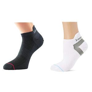 1000 Mile Ultimate Tactel Womens Black Breathable Training Running Anklet Socks