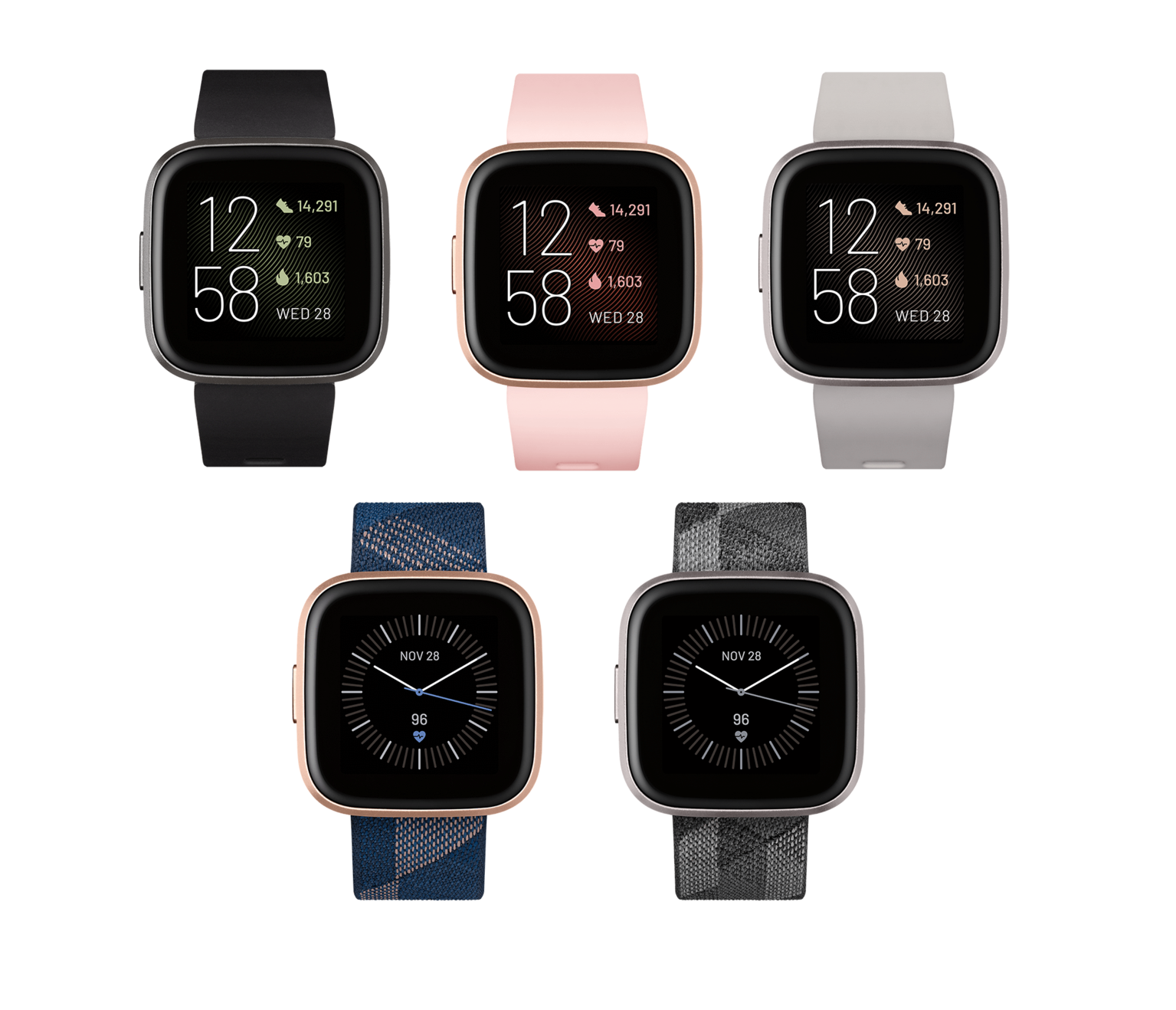 Fitbit Versa 2 Health and Fitness Smartwatch - NEW Versa2 6