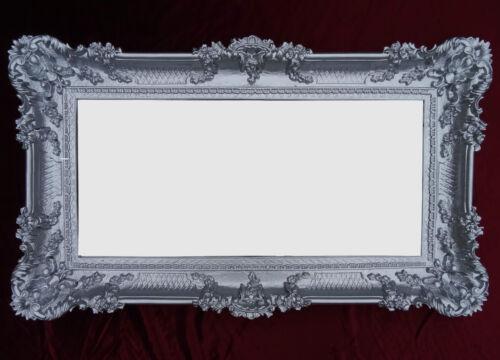 XXL Baroque Wall Mirror 96x57 Antique Rococo Wall Deco Prinzessinspiegel Purple
