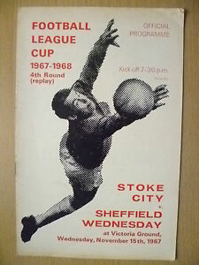 Football-League-Cup-4th-RD-REPLAY-STOKE-CITY-v-SHEFFIELD-WEDNESDAY