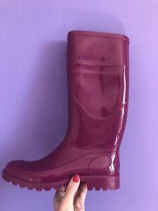 design elegante preordinare acquista per ufficiale Dettagli su Galosce Stivali Scarpe Bata Per La Pioggia N 37