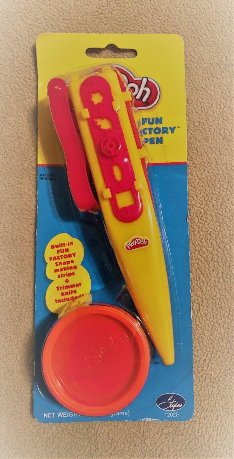 Play-doh Fun Factory Pen Playdoh Shapes Trimmer 2004 Stylus Hasbro