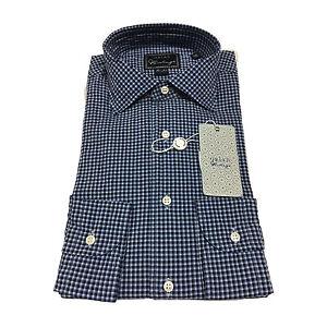 migliore a buon mercato 6595a 1da69 Dettagli su ORIAN VINTAGE camicia uomo fantasia quadretti vestibilità slim
