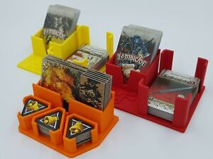Zombicide-Black-Plague-Card-Holders-amp-Draw-Decks-Set-Of-3