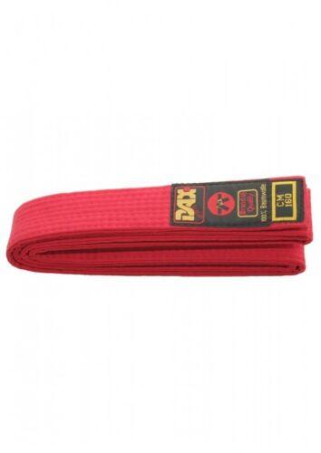 Wettkampf. Baumwolle vielseitig Dax-Sports- Judo-Gürtel 140cm-180cm rot