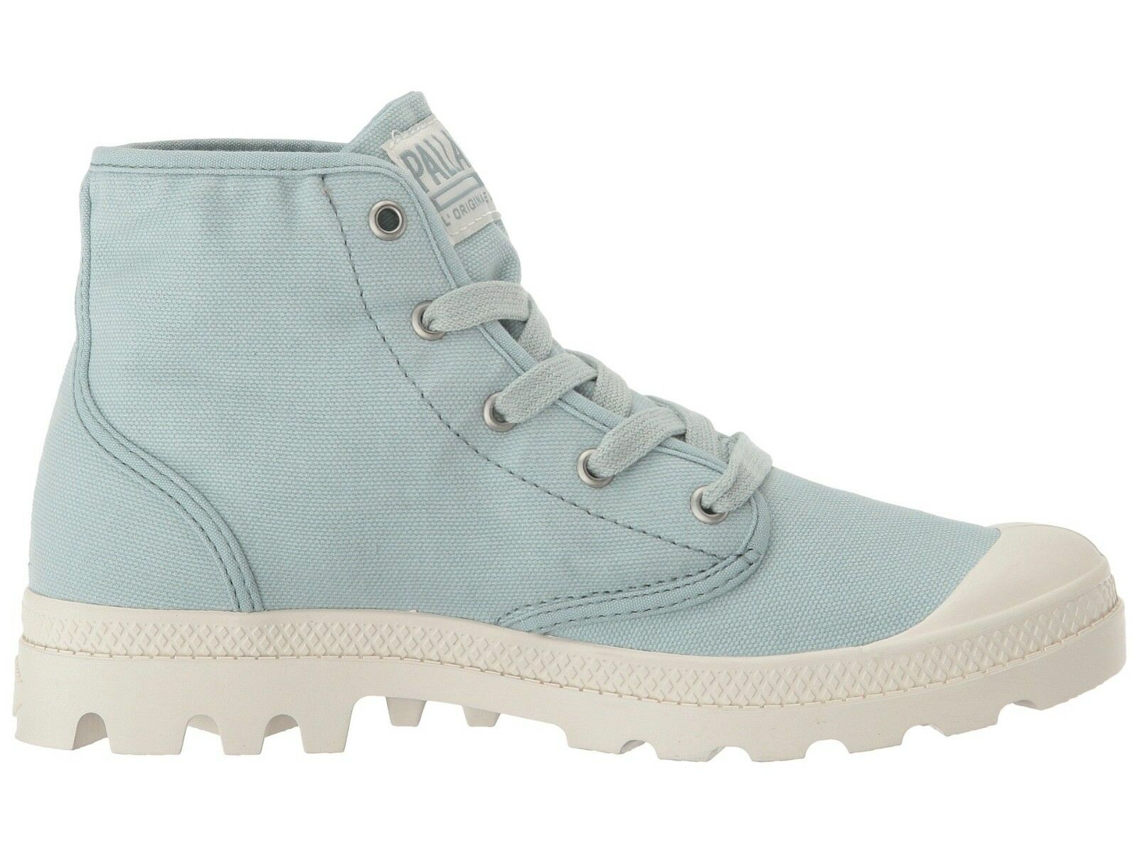 Damenschuhe Palladium Hi Mist/Marshmallow Lace Up Ankle Stiefel