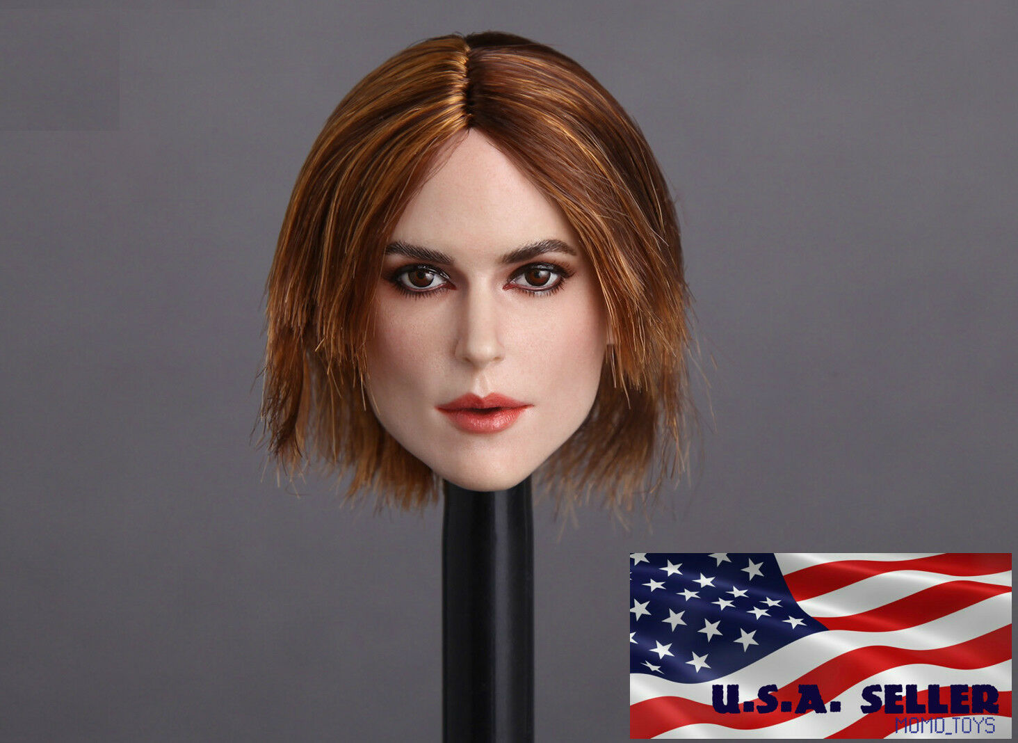 1 6 American Female Head Sculpt Sculpt Sculpt B For 12  Phicen Hot Toys Female Figure ❶USA❶ 590562