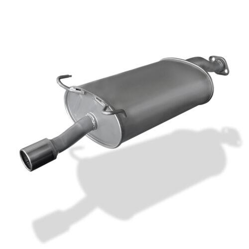 Endschalldämpfer ESD Endtopf Nachschalldämpfer Honda Stream 2.0 16V