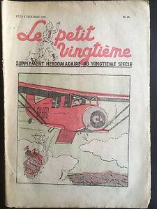 Tintin-Herge-Le-Petit-Vingtieme-du-8-decembre-1938-N48-Syldavie-TBE