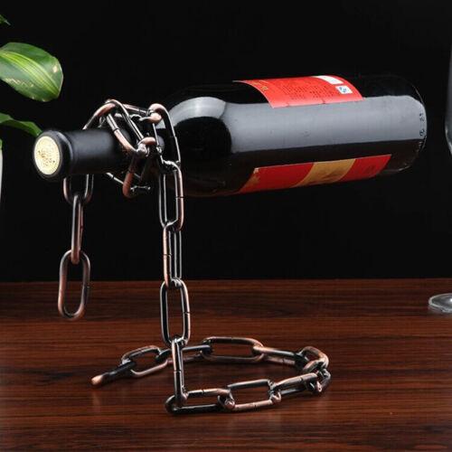 Flaschenhalter magische Kette schwebende Flasche Wein Dekoration Illusion Magic