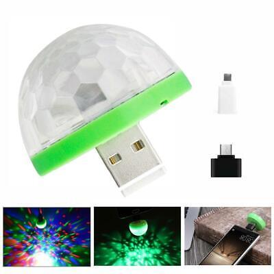 USB Led Mushroom Light Mini Led Light For Home Party Parties Change Color Music