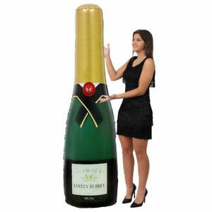 180cm Giant Inflatable Celebration Champagne Bottle Blow Up Decoration Wedding Ebay