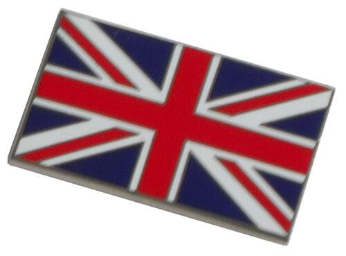 Union Jack flag enamel lapel pin