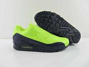 Details about Nike Air Max 90 SP Nikelab SACAI Obsidian Blue Volt Neon trainer us_9 EUR 40.5 show original title