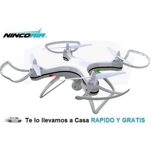 Drone Radiocontrol Stratus GPS WiFi Con Cámara HD 2,4Ghz Dron Rc Ninco NH90120