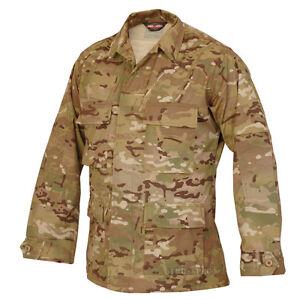 MultiCam-Camo-Nyco-BDU-Uniform-Shirt-by-TRU-SPEC-1220-FREE-SHIPPING-Mil-Spec
