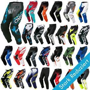 O-039-Neal-elemento-Mayhem-Hardwear-Pants-Pantaloni-MX-MOTO-CROSS-ENDURO-OFFROAD-Pelle