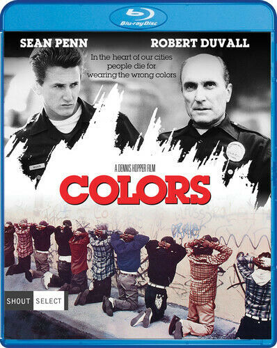 Colors (1988) (Sean Penn) (Collectors Edition, Unrated Version) BLU-RAY NEW