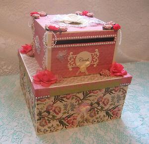 Wedding Gift Card Box Canada : Wedding-Card-Box-OOAK-Elegant-Cake-Shaped-Gift-Card-Holder-Money-CHRIS ...