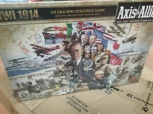 Axis and allies 1914 ww1 board game new