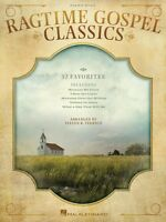Ragtime Gospel Classics Sheet Music Piano Solo Songbook 000142449