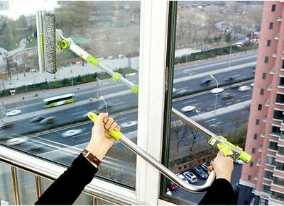 Window Brush Telescopic High Rise Glass Cleaner Windows Washing Cleaning Tools