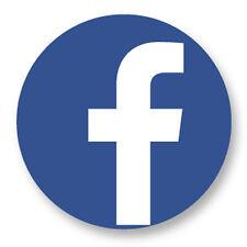 """Pin Button Badge Ø25mm 1"""" Réseaux Sociaux Web 2.0 The Social Network Facebook"""