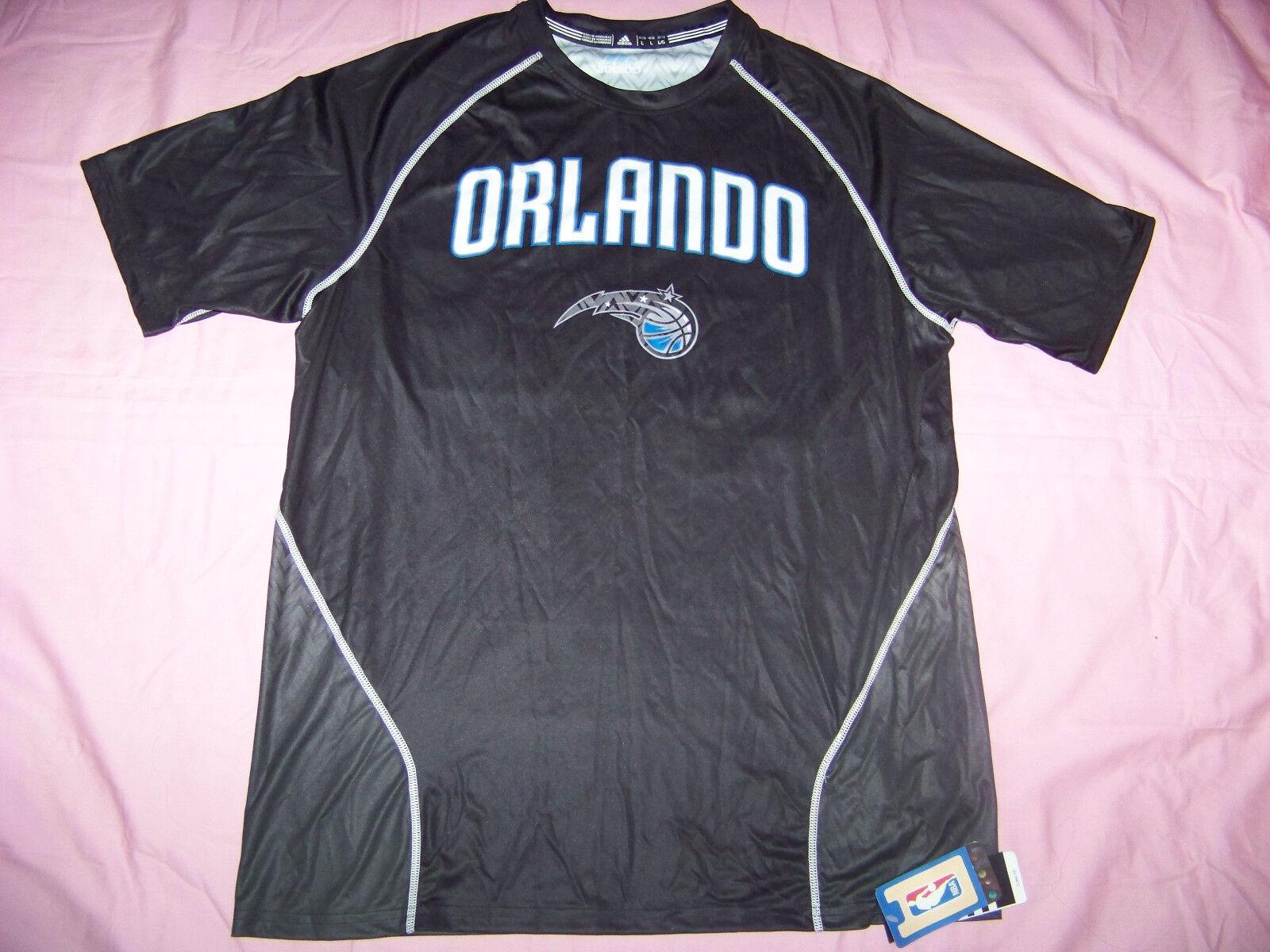 Adidas ClimaLite Men's Resonate Tee Orlando Magic Shirt NWT Large