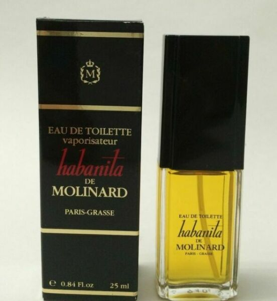 habanita de molinard oz edt women 39 s spray perfume 25 ml vintage item for sale online ebay