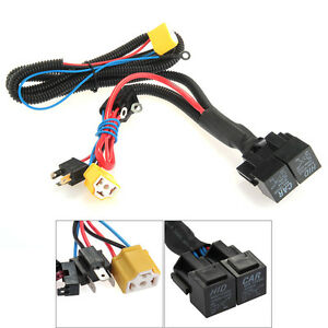 h4 9003 ceramic fused socket relay wiring harness. Black Bedroom Furniture Sets. Home Design Ideas