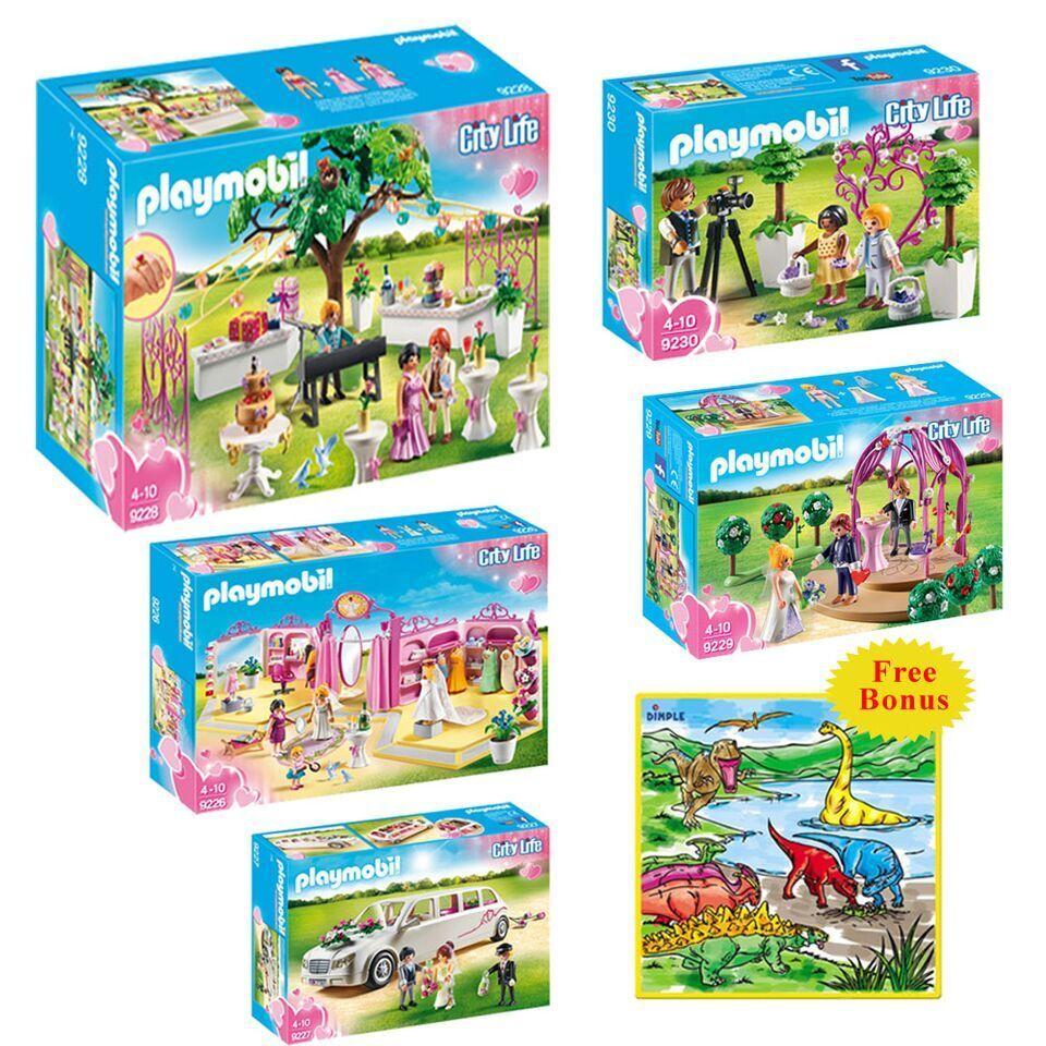 Playmobil Conjunto de Juguetes Creative Kids Boda Mega  Juegos de Interior  Incluye nupcial
