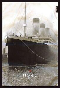 Titanic-Grigio-Collezionisti-Vintage-Cotone-Te-Asciugamano-Sg