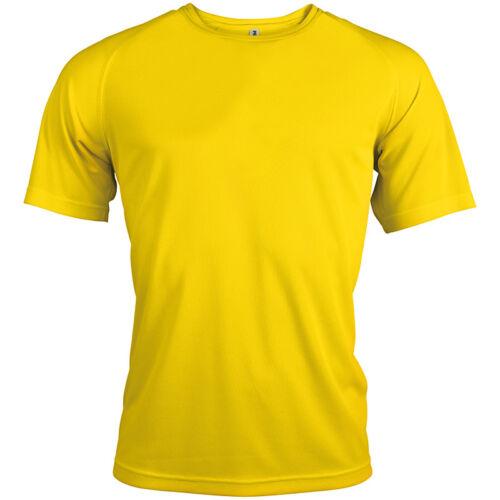 Kariban PA438 Proact Mens T-Shirt Quick Drying Lightweight Sports Wear Shirt Top