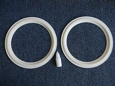 Replacement Foam White Edge for JBL LE-10,10A PR10 pair