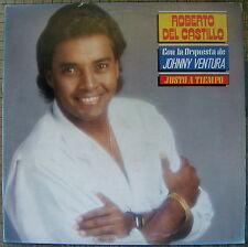 Roberto Del Castillo Justo A Tiempo Orquesta Johnny Ventura Merengue CBS NMINT