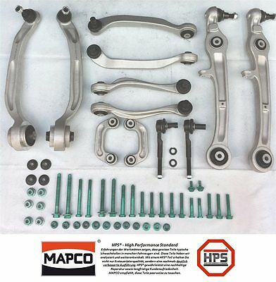 Strengthened Mapco Transverse control arm set AUDI A4 A6 S4 RS4 RS 4 B5 B6 HPS