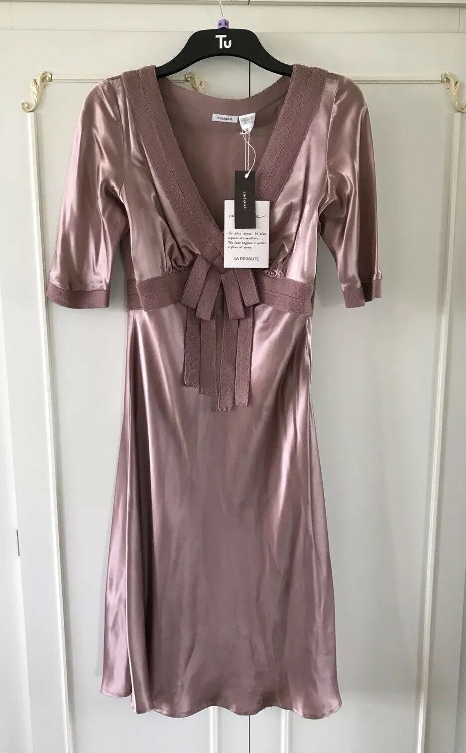 Ladies French Designer Dress  New With Tags Never Worn  In Mint Condition