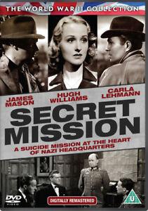 Secret-Mission-DVD-2015-Hugh-Williams-French-DIR-cert-U-NEW