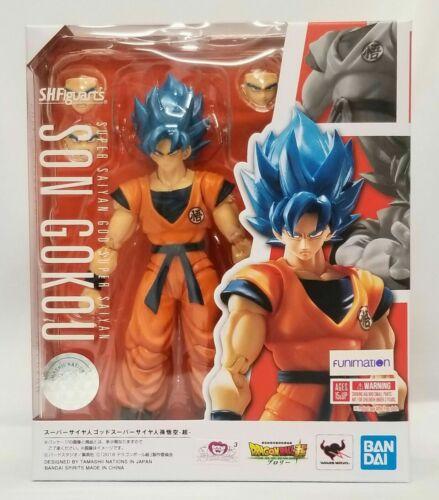 SH Figuarts Super Saiyan God Super Saiyan Son Goku  Dragonball Z Bandai Figure
