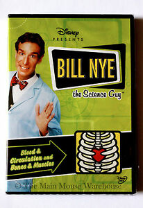 Bill-Nye-The-Science-Guy-Blood-Circulation-and-Bones-amp-Muscles-Educational-DVD