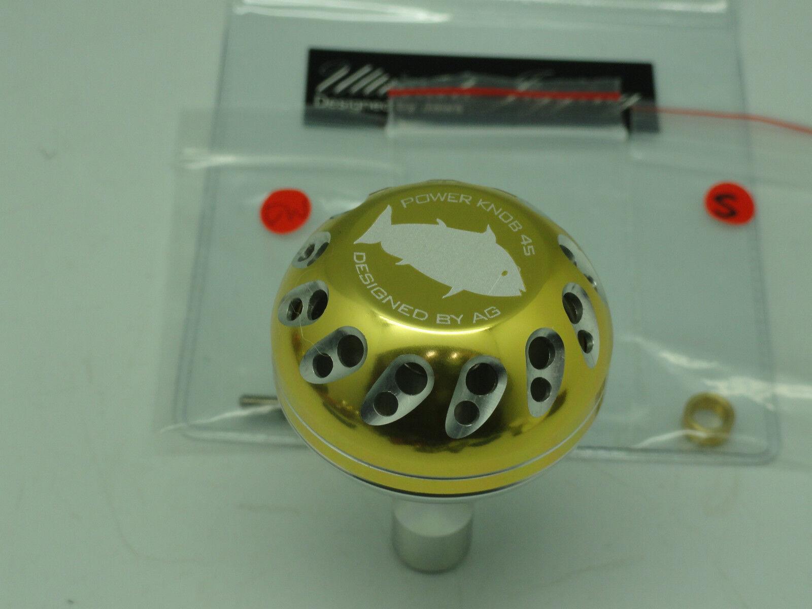PRK 45 knob for Daiwa Saltiga  Tanacom Bull Shimano Ocea Jigger Talica reel PG SV  discount sale