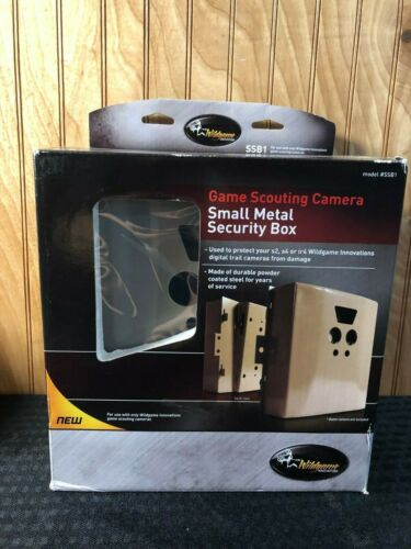 Wildgame Innovations Game Camera Small Metal Security Box SSB1 Hunting HeavyDuty