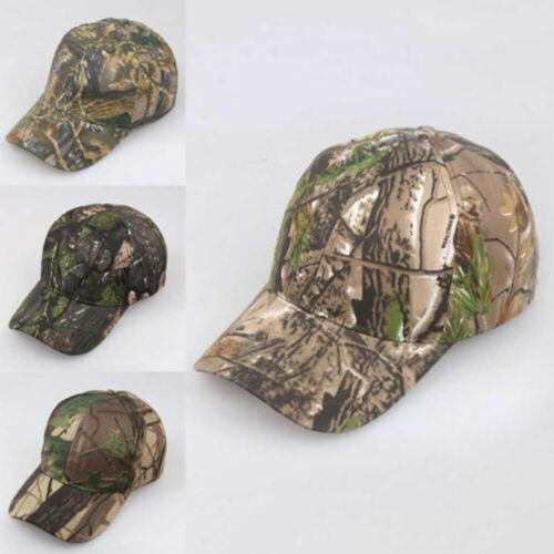 Camouflage  Visor Fishing Military Tactics Camo Army Sun Hat Men Baseball Cap