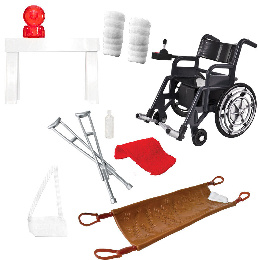 Medical Toy Themed Accessory Special Deal for 6 Inch Action Figures, Models
