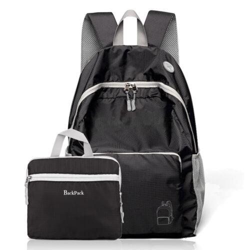 Ultra Lightweight Packable Backpack Hiking Daypack Travel Handbag School Bags