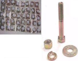 2992 Grade 5 Coarse Thread Bolt Nut /& Washer Assortment With 40 Hole Bin