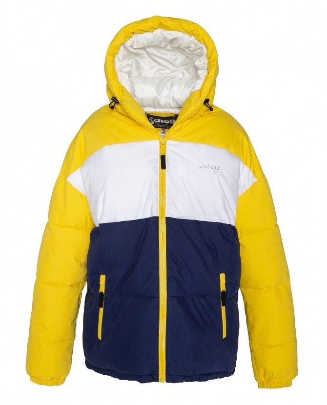 Schott JKT Alaska Chaqueta Con Capucha  Unisex-bien acolchada para invierno tamaño  Small  70% de descuento