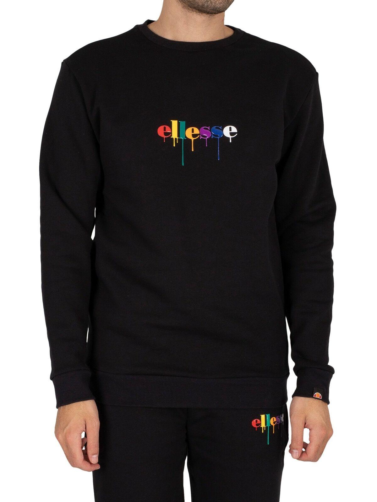 Ellesse Men's Todravi Sweatshirt, Black